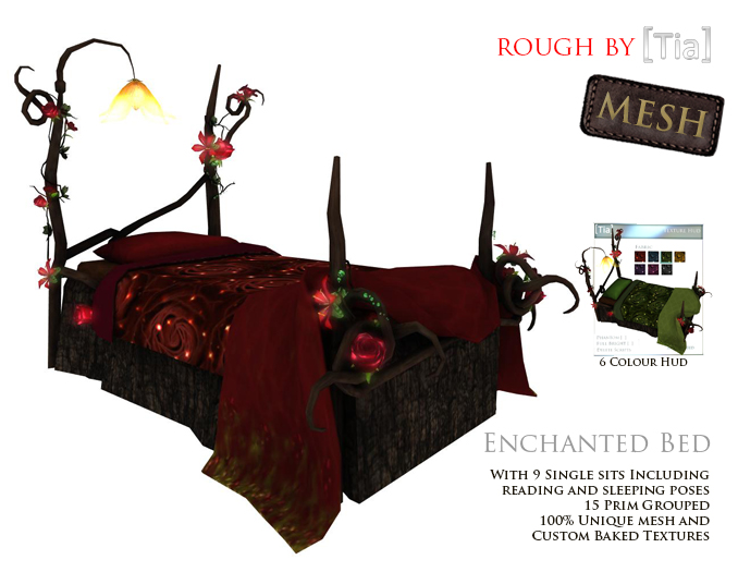 [Tia] EnchantedBed_Marketplace