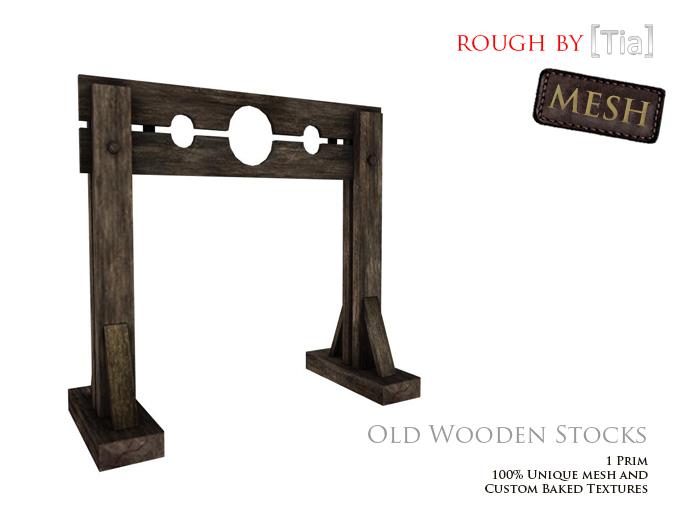 [Tia] OldWoodenStocks_Marketplace