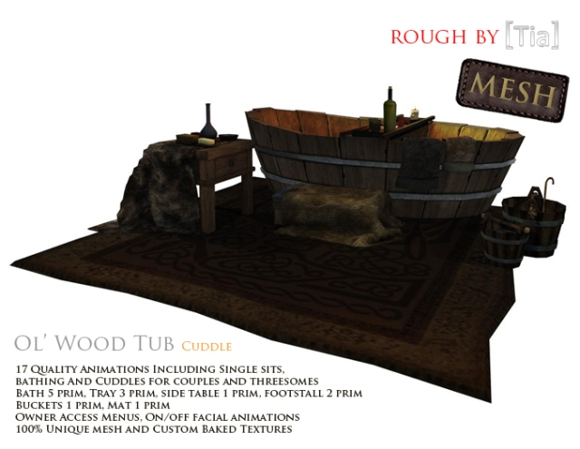 [Tia] Ol'WoodTubCUDDLE_Marketplace