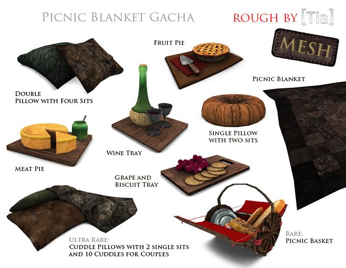 [Tia] PicnicBlanketGacha_Marketplace