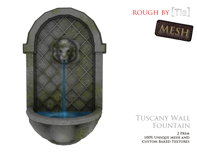 [Tia] TuscanyWallFountain_Marketplace