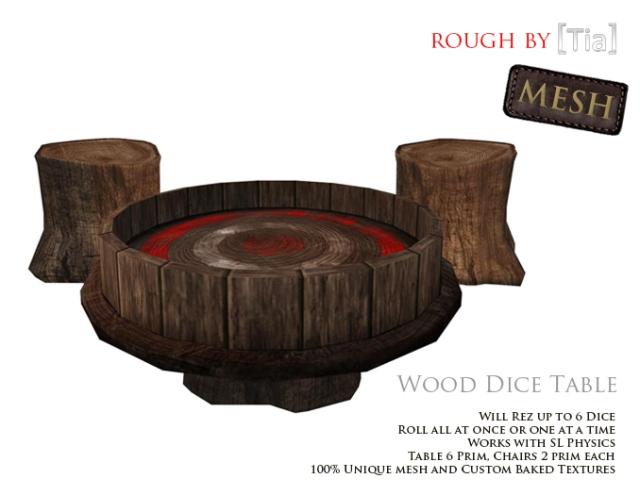 [Tia] WoodDiceTable_Marketplace