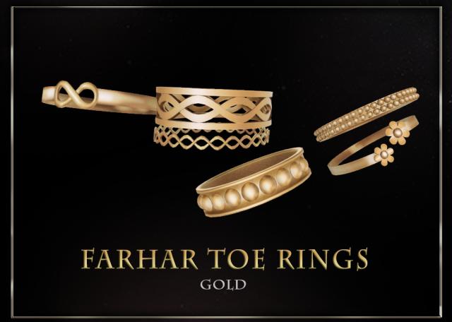 FarharToeRings_Gold