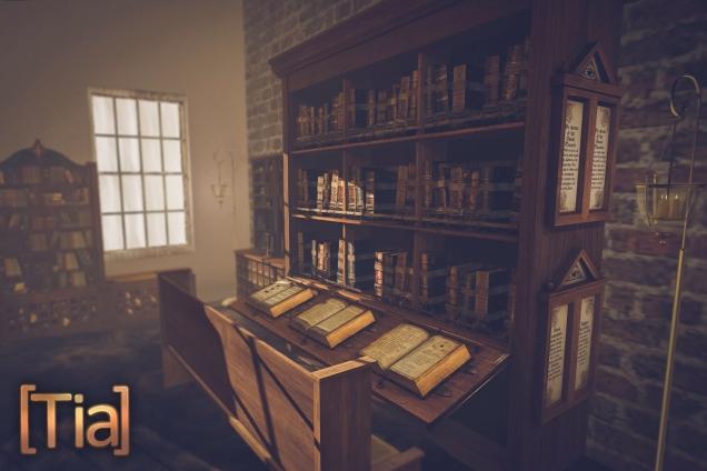 Chained Bookshelf