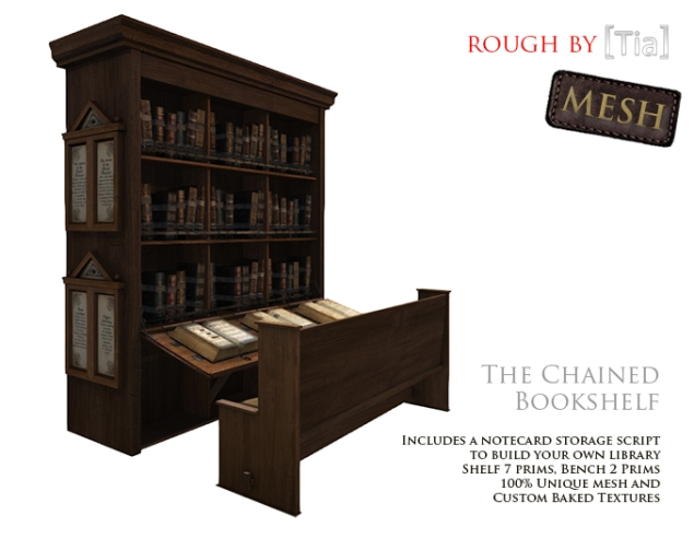 [Tia] ChainedBookshelf_Marketplace