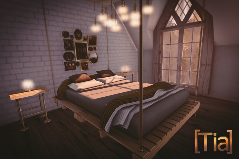 Pallet Chic Bed-1