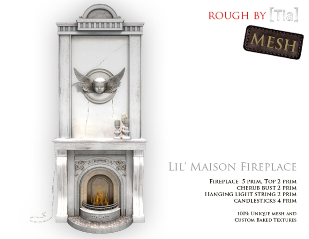 [Tia] LilMaisonFireplace_Marketplace